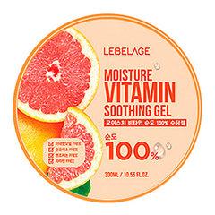 Lebelage Moisture Vitamin Soothing Gel - Увлажняющий успокаивающий гель для лица и тела с витаминами