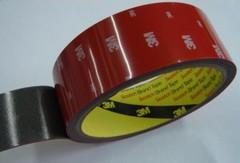 Скотч 3М TAPE 12мм х 10м красная подложка