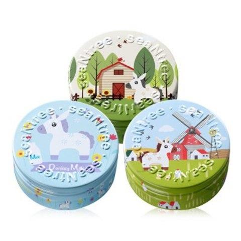 Увлажняющий крем-гель на основе ослиного молока, 35 г/ 200г / SeaNtree Donkey Milk Water Drop Cream