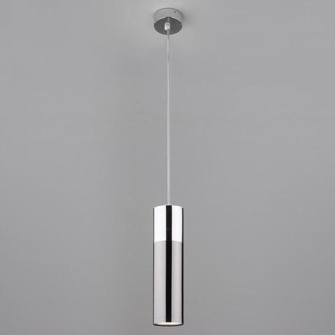 Подвесной светильник 50135/1 LED хром/черный жемчуг