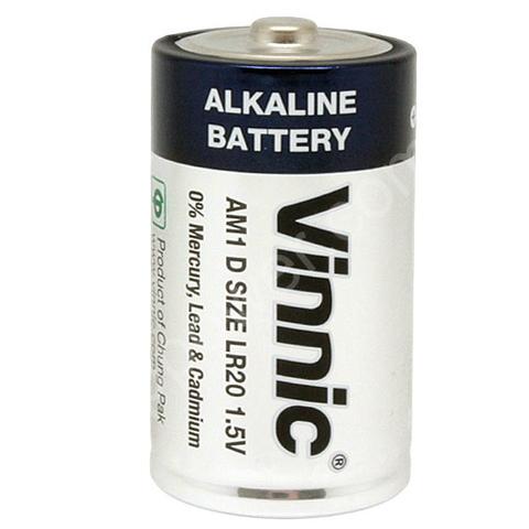 Батарейки Vinnic LR20, D (2/20)