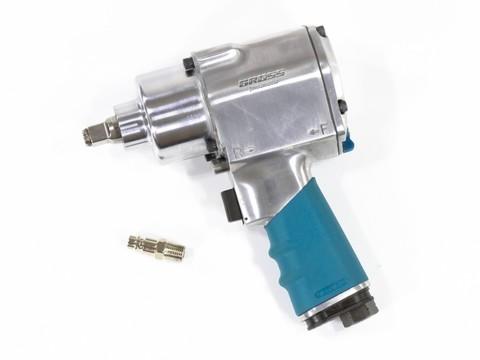Гайковерт пневматический ударный G1260,1/2, Twin Hammer, 813Нм, 7000 об/мин Gross