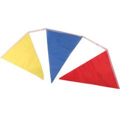 Флажки расцвечивания Разноцветные 9 м (20*29,5*29,5 см) 24 флажка