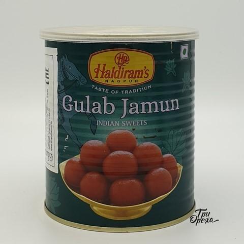 Индийская сладость Гулаб Джамун классический HALDIRAMS, 1 кг