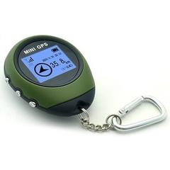Возвращатель GPS компас NPG-401 - mini-GPS PG03 green