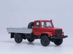 GAZ-33081 4x4 Turbo Diesel engine D-245.7 exhibition AutoHistory 1:43