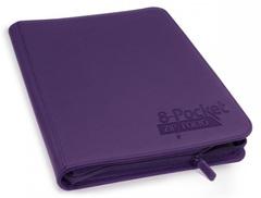 Ultimate Guard - Фиолетовый гибкий альбом XenoSkin на молнии на 320 карт (4х2)