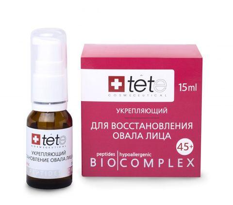 Tete Биокомплекс укрепляющий - Для восстановления овала лица 45+