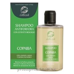 Dobrasil shampoo antiforfora con estratti biologici copaiba-Шампунь от перхоти с растительными ВІО экстрактами