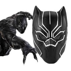 Супергерои Марвел маска Черная Пантера