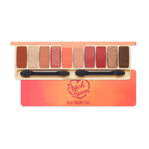 Палетка теней Etude House Play Color Eyes Peach Farm