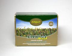 Чай Алфит № 24 противопаразитарный 60 бр(Гален)