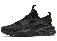 Кроссовки Мужские Nike Air Huarache Run Ultra Hyper Black