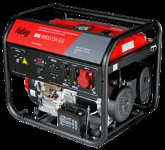 Бензиновый генератор с электростартером и коннектором автоматики FUBAG BS 6600 DA ES