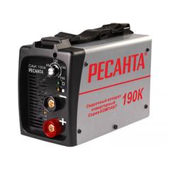 Сварочный аппарат инверторный Ресанта САИ-190К (компакт)