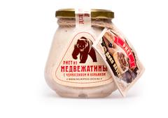 Риет из медвежатины с черносливом и коньяком, 250г