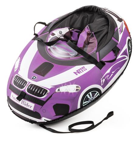 Тюбинг Small Rider Snow Cars фиолетовый