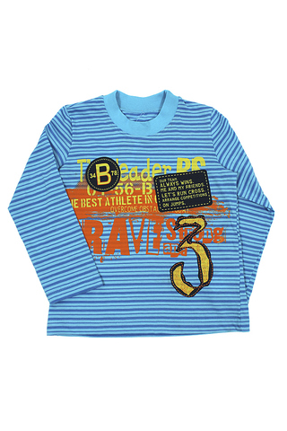 Basia Н696-3629  Джемпер для мальчика бирюзовый