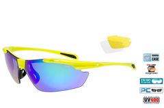 Очки Goggle Raven Race Neon Yellow - 1 линза в комплекте