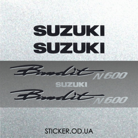 Набор виниловых наклеек на мотоцикл SUZUKI BANDIT 600N, 1995