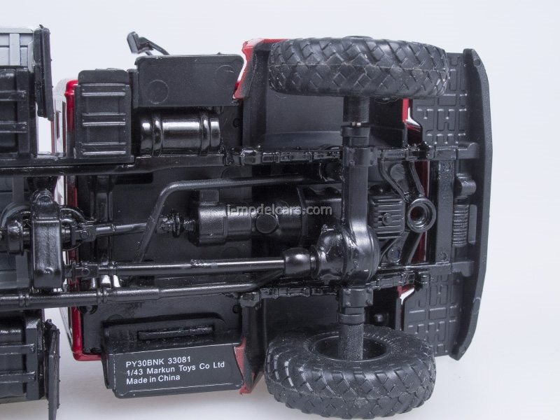 GAZ-33081 4x4 Turbo Diesel engine D-245.7 exhibition AutoHistory 1:43