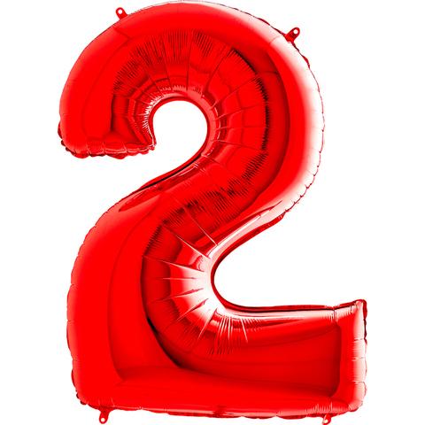 Цифра 2 (Красная)