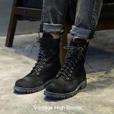 Ботинки «Vintage high» купить