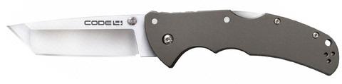 Купить Складной нож COLD STEEL, CODE 4 TANTO, 40826 по доступной цене
