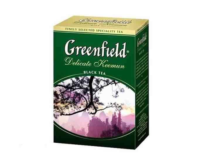 Чай черный листовой Greenfield Delicate Keemun, 100 г (Гринфилд)