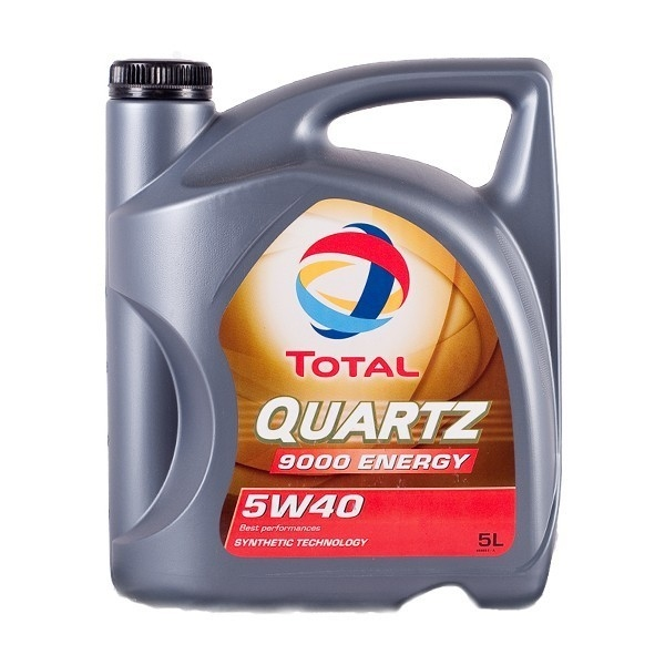 Моторное масло Total Quartz 9000 Energy 5W-40 5 литров total quartz ineo ecs 5w 30 1 л