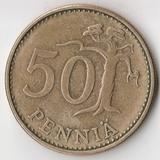 K7130, 1966, Финляндия, 50 пенни