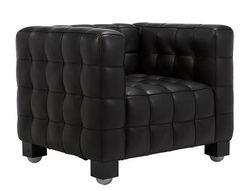 кресло kubus armchair ( кожа)