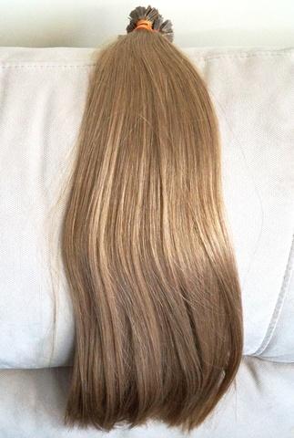 Скандинавские блонды на капсулах оттенок темный пепельный блонд