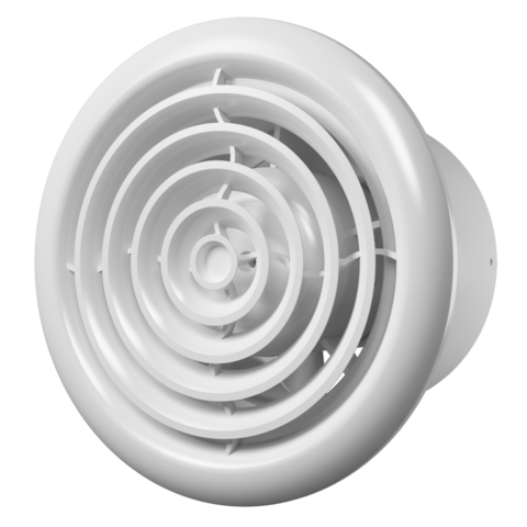 Вентилятор FLOW 5C BB D125 (двигатель на шарикоподшипниках, с обратным клапаном)