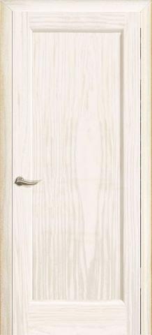 Дверь Океан Новая волна Р, цвет ясень белый жемчуг, глухая