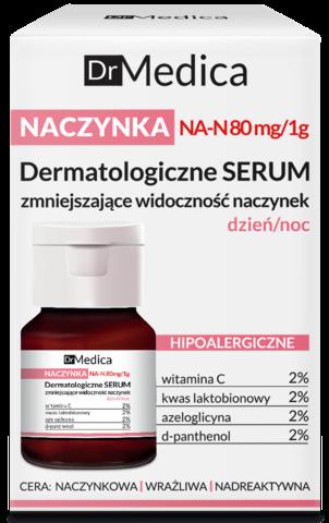 DR MEDICA CAPILLARY SKIN Дерматологическая сыворотка, уменьшающая покраснения, гипоаллергенная, дневная/ночная, 30 мл