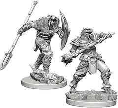 D&D Nolzur's Marvelous Miniatures - Dragonborn Male Fighter with Spear