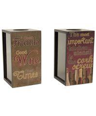 Декоративная емкость для винных пробок Boston Warehouse AST/2