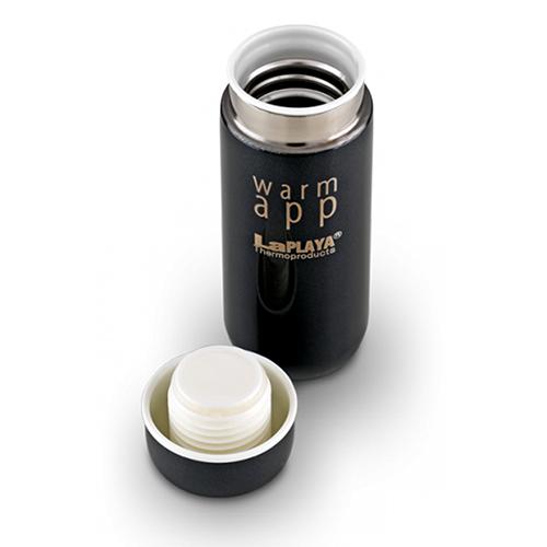 Набор термосов La Playa WarmApp (0.2 литра) белый/черный