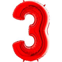 Цифра 3 (Красная)
