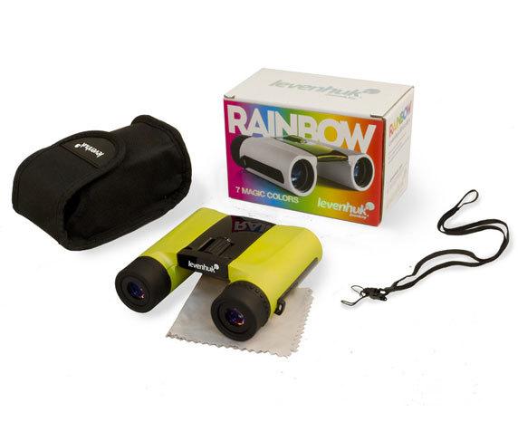 Комплект поставки бинокля Levenhuk Rainbow 8 25