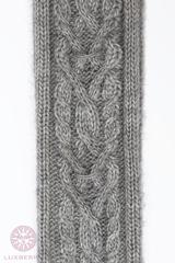 Гольфы вязаные Luxberry серые