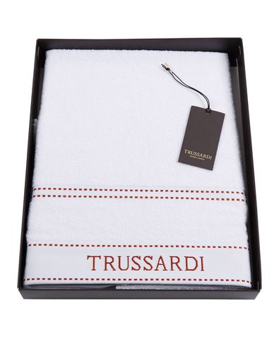 Набор полотенец 2 шт Trussardi Ribbon White
