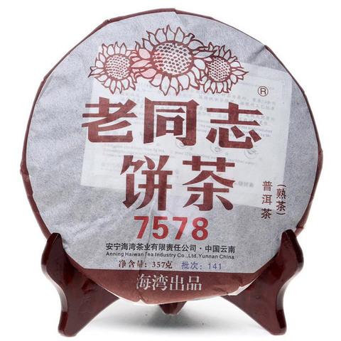Шу Пуэр Ци Цзы Бин «7578»