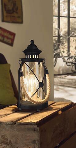 Настольная лампа Eglo BRADFORD (VINTAGE) 49283 6