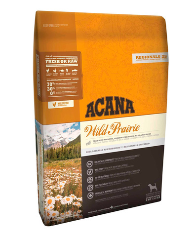 Acana Regionals Wild Prairie Dog корм беззерновой для собак (курица) 2 кг