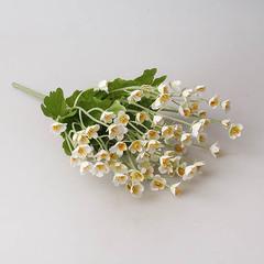 Летний букет 23 см, цвет белый, арт. 9129-4
