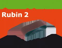 Лента шлиф. Rubin II P 100, компл. из 10шт.     105 x 620 / P100 RU2/10