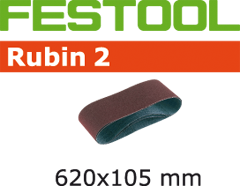 Лента шлифовальная Rubin II P100 10шт 105 x 620 / P100 RU2/10 Festool 499152