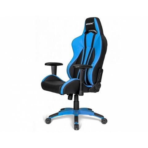 Игровое Кресло AKRacing PREMIUM Plus (AK-PPLUS-BL) black/blue